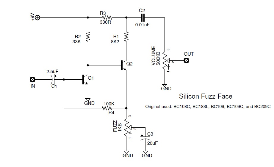 si_fuzzface1 the faces of fuzz a brief history of the fuzz face fuzz face wiring diagram at gsmx.co